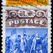USA - CIRCA 1992 Columbian Stamp Expo — Stock Photo