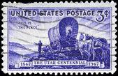 USA - CIRCA 1947 Utah Settlement — Stock Photo