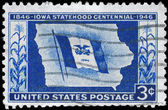 USA - CIRCA 1946 Iowa Statehood — Stock Photo