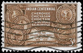 USA - CIRCA 1948 Indian Territory — Stock Photo