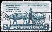 USA - CIRCA 1949 Minnesota Territory — Stock Photo