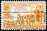USA - CIRCA 1950 California Statehood — Stock Photo