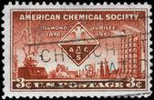 USA - CIRCA 1951 Chemical Society — Stock Photo