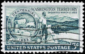 USA - CIRCA 1953 Washington Territory — Stock Photo