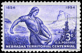 USA - CIRCA 1954 Sower — Stok fotoğraf