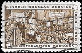 USA - CIRCA 1958 Debating — Stock Photo