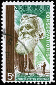 USA - CIRCA 1964 John Muir — Stock Photo