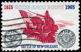 USA - CIRCA 1965 Battle of New Orleans — Stock Photo