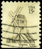 USA - CIRCA 1980 Robertson Windmill — Stock Photo