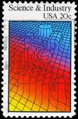 Usa - cirka 1983 vetenskap & industri — Stockfoto