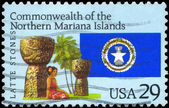 USA - CIRCA 1993 Mariana Islands — Stock Photo
