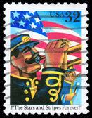 USA - CIRCA 1997 Trumpeter — Stock Photo