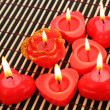 Red candles — Stock Photo #8081299