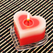 Red candle - Stockfoto