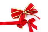 Red ribbons — Stock Photo