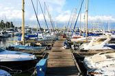 Larnaca port — Stock Photo