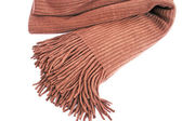 Brown scarf — Stock Photo