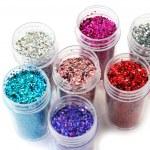 Nail glitters — Stock Photo #8951536