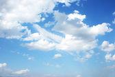 Wolken himmel — Stockfoto