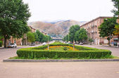 Vanadzor city in Armenia — Stock Photo