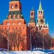 Red square and Kremlin - Stock Photo