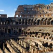 Inside Colosseum - Stock Photo
