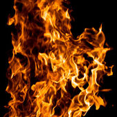 Fire texture — Stock Photo