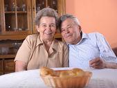 Happy senior couple — Foto Stock
