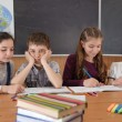 Elementary school pupils — Stock Photo