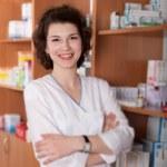 Chemist in drugstore — Stock Photo #10608381