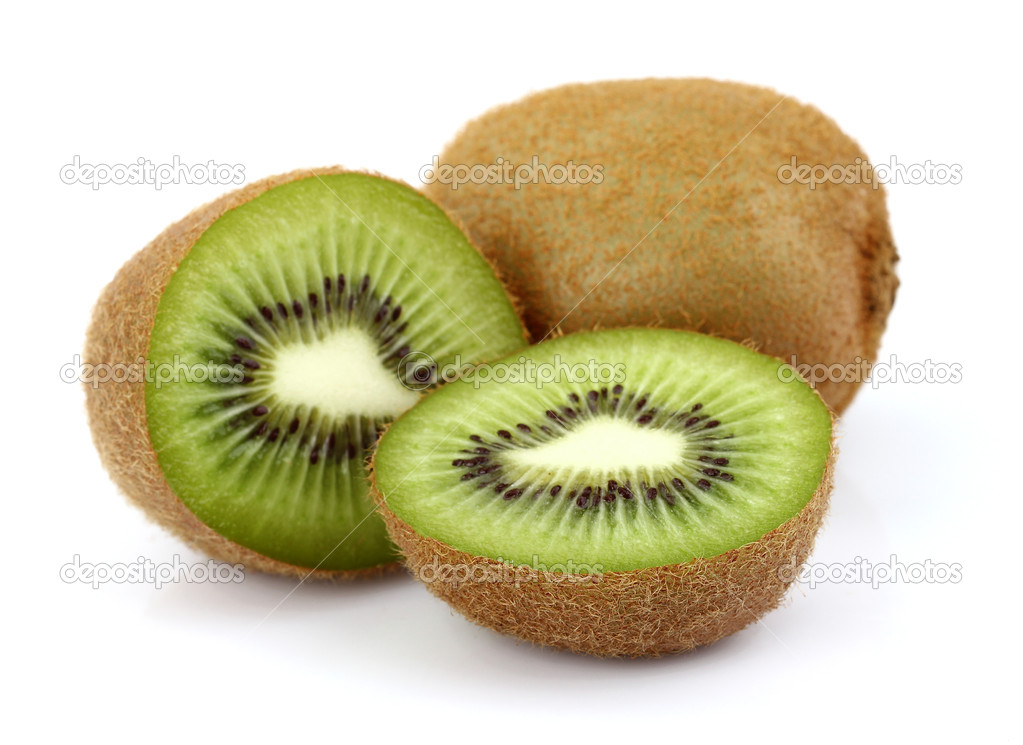Sweet kiwi on a white background  Stock Photo #10289002