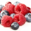 Sweet berries in closeup — Stock Photo