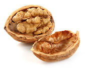 Walnut in closeup — Stock Photo
