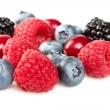 Stock Photo: Fresh berries in closeup