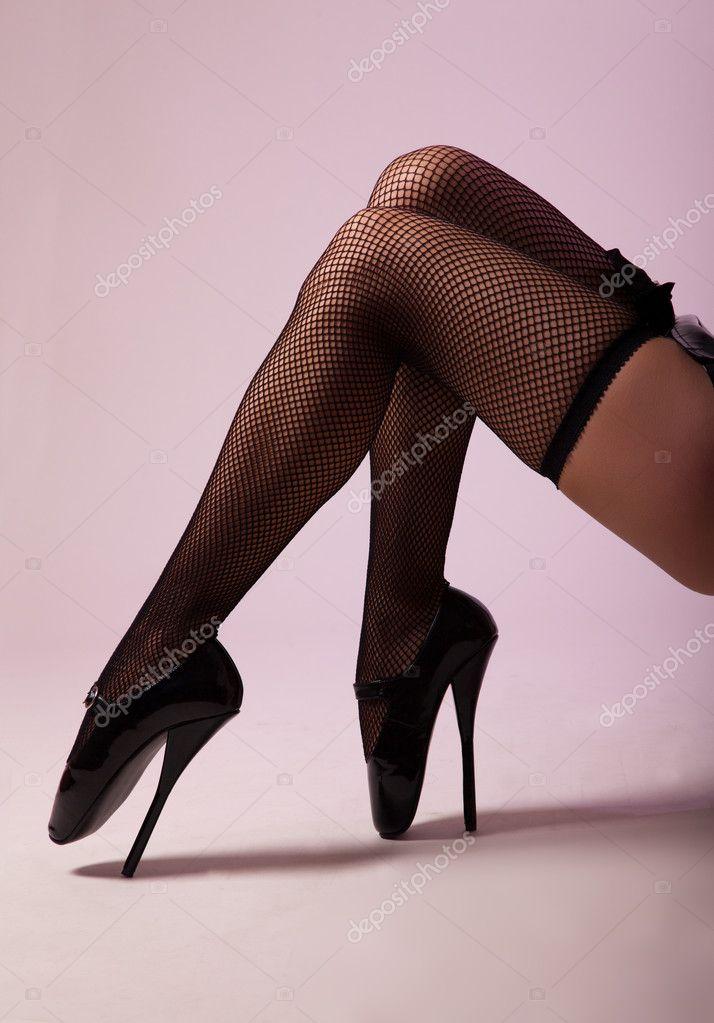 Фетиш чулки и обувь смотреть онлайн фотоография