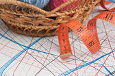 Balls of yarn — Stock Photo