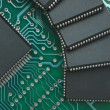 Pile of microchips — Stock Photo #8390411