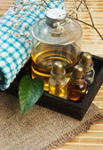 Set of perfume oils — Zdjęcie stockowe