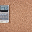 Electronic calculator — Stock Photo #8503353