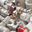 Plumbing fittings — Stock Photo