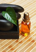 Set of perfume oils — Stock Photo