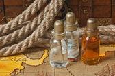 Flacons d'huiles parfumées — Photo