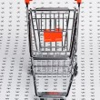 Shopping trolley — Stock Photo #9938030