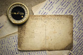 Lettres et cartes postales vintage — Photo
