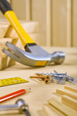 Working tools on table — Stock Photo