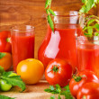 Tomatoes nutrition — Stock Photo