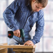Young man in the work — Stock Photo #9412612