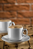 Two cups of Espresso — Stock Photo