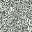 Seamless pattern with leaves — Vektorgrafik