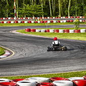Racing track for Carting — Stock Photo